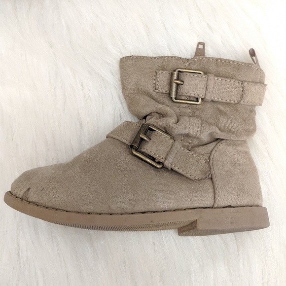 how to get 100% high quality arriving Girls Old Navy Boots Size 6 Buckle Straps Zip Up